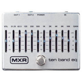 DUNLOP M108S MXR TEN BAND EQ Педаль эффектов фото