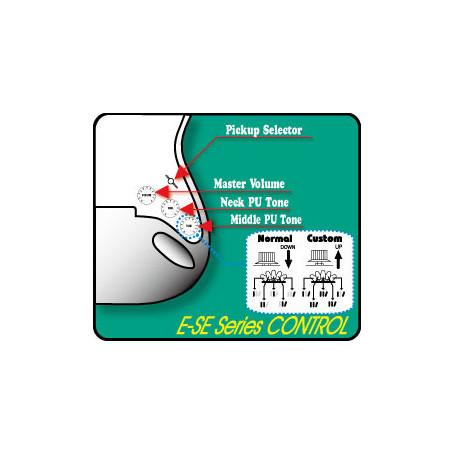 ESP EDWARDS E-SE93R/LT 3TS Электрогитара фото
