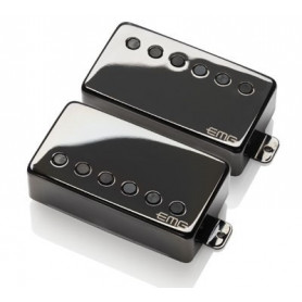 "EMG JH \\""HET\\"" SET (Black Chrome) набор звукоснимателей для гитары James Hetfield Signature фото"