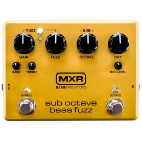 DUNLOP M287 MXR SUB OCTAVE BASS FUZZ Гитарный эффект фото