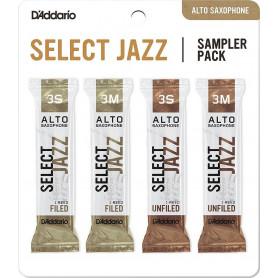 D`ADDARIO Select Jazz Reed Sampler Pack - Alto Sax 3S/3M Трости для духовых фото