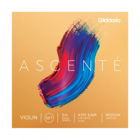 D`ADDARIO A310 3/4M Ascenté Violin Strings 3/4M Струны для скрипки фото