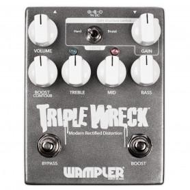 WAMPLER TRIPLE WRECK педаль хай-гейн дисторшн фото