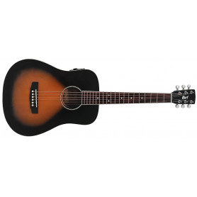 CORT AD MINI E-V (VB) w/bag Электро-акустическая гитара фото