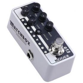 MOOER 013 MATCHBOX гитарная педаль преамп с кабинет эмуляцией фото