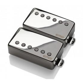 "EMG JH \\""HET\\"" SET (Chrome) набор звукоснимателей для гитары James Hetfield Signature фото"