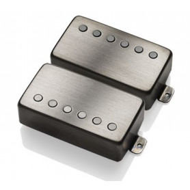 "EMG JH \\""HET\\"" SET (Brushed Black Chrome) набор звукоснимателей для гитары James Hetfield Signature фото"
