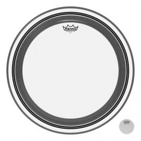REMO Bass, POWERSTROKE® 3, Clear, 20&quot Diameter, No Stripe Пластик для барабана фото