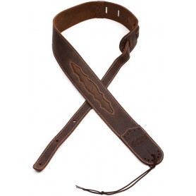 MARTIN 18A0079 Wingtip Guitar Strap (Dark Brown) Ремень гитарный фото
