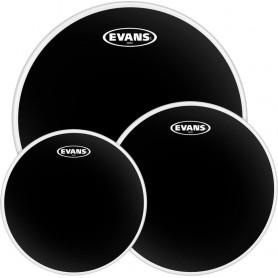 EVANS ETPCHR-R BLACK CHROME ROCK SET Пластик для ударных фото
