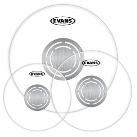 EVANS ETPPC1CLR-R POWER CENTER CLEAR ROCK Пластик для ударных фото