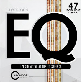 CLEARTONE 7810 EQ HYBRID METAL ACOUSTIC ULTRA LIGHT 10-47 Струны для гитары фото