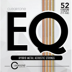 CLEARTONE 7811 EQ HYBRID METAL ACOUSTIC CUSTOM LIGHT 11-52 Струны для гитары фото