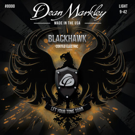 DEAN MARKLEY 8000 BLACKHAWK COATED ELECTRIC LT (09-42) Струны для гитары фото