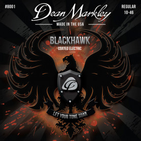 DEAN MARKLEY 8001 BLACKHAWK COATED ELECTRIC REG (10-46) Струны для гитары фото