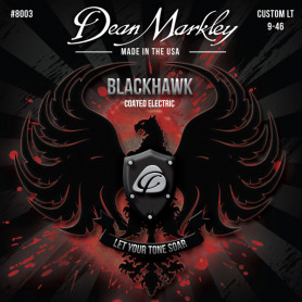 DEAN MARKLEY 8003 BLACKHAWK COATED ELECTRIC CL (09-46) Струны для гитары фото