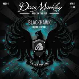 DEAN MARKLEY 8004 BLACKHAWK COATED ELECTRIC MTHB (11-49) Струны для гитары фото