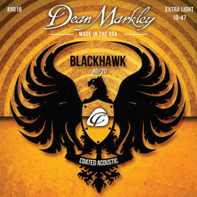 DEAN MARKLEY 8018 BLACKHAWK ACOUSTIC 80/20 BRONZE XL (10-47) Струны для гитары фото