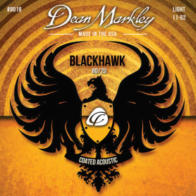 DEAN MARKLEY 8019 BLACKHAWK ACOUSTIC 80/20 BRONZE LT (11-52) Струны для гитары фото