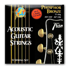 FRAMUS 47240 PHOSPHOR BRONZE LIGHT 12STRING (10-47) Струны фото