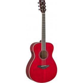 YAMAHA FS-TA (Ruby Red) Электро-акустическая гитара TransAcoustic фото