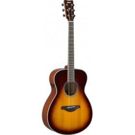 YAMAHA FS-TA (Brown Sunburst) Электро-акустическая гитара TransAcoustic фото