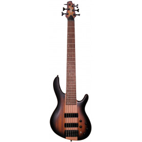 CORT C6 Plus ZBMH (Open Pore Tobacco Burst) Бас-гитара фото