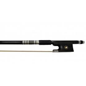 STENTOR 1243XA Carbon Composite Violin Bow Ebony Frog 4/4