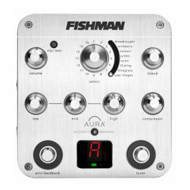 Педаль преамп для акустичної гітари Fishman PRO-AUR-SPC Aura