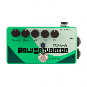 Педаль гітарна PIGTRONIX PSO PolySaturator Overdrive фото