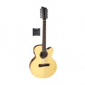 VG500540 Ел. акуст. гітара VGS B-40-12СЕ Nat.Satin фото