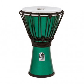 "TO803298 Джембе 7"" Toca Freestyle Colorsound Metallic Green"