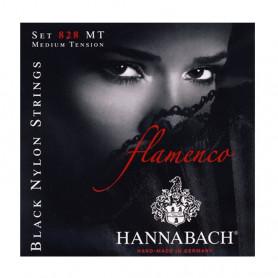 652967 Струни для клас.гіт. Hannabach 828MT Flamenco black фото
