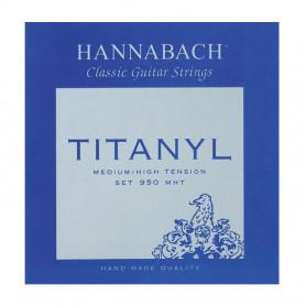 653159 Струни для клас.гіт. Hannabach 9507MНT (3 бас.стр.) фото