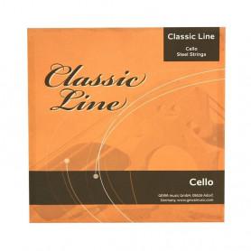 F641064 Струни для віолончелі Classic Line 1/2 фото