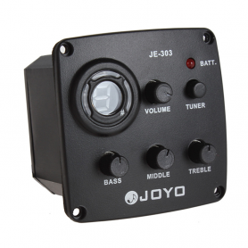 Еквалайзер 3 смуговий зі звукознімачем для гітари JOYO JE-303