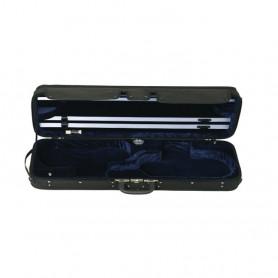 323050 Футляр для 2-х скрипок (чорн/синій) GEWA фото