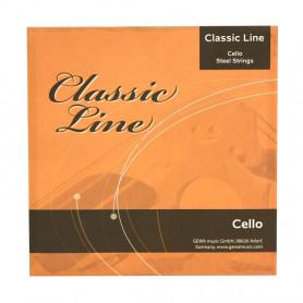 F641019 Струни для віолончелі Classic Line 4/4 фото