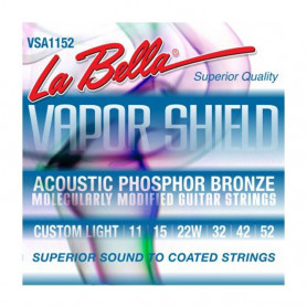 Стр. для акуст. гіт. La Bella VSA1152 (11-52 Phosphor bronze з
