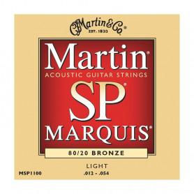 Струни MARTIN MSP1100 (12-54 SP Marquis bronze) фото