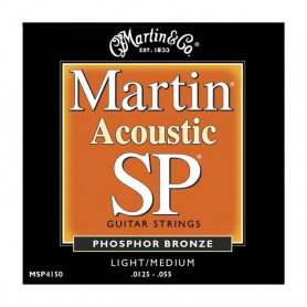 Струни MARTIN MSP4150 (125-55 SP Phosphor bronze) фото