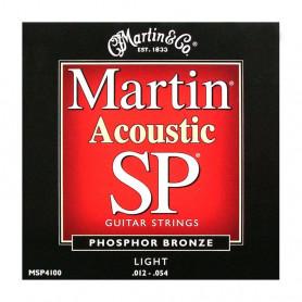 Струни MARTIN MSP4100 (12-54 SP Phosphor bronze)) фото