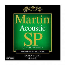 Струни MARTIN MSP4000 (10-47 SP Phosphor bronze) фото