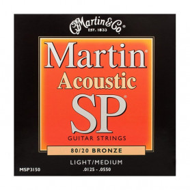 Струни MARTIN MSP3150 (125-55 SP bronze) фото