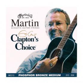 Струни MARTIN MEC13 (13-56 Claptons choice) фото
