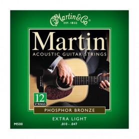 Струни MARTIN M500 (10-47 12 strings) фото