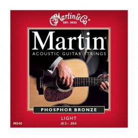 Струни MARTIN M540 (12-54 Phosphor bronze) фото