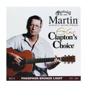 Струни MARTIN MEC12 (12-54 Claptons choice) фото