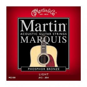 Струни MARTIN M2100 (12-54 Marquis Phosphor bronze) фото