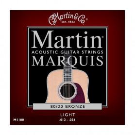 Струни MARTIN M1100 (12-54 Martin Marquis Bronze) фото